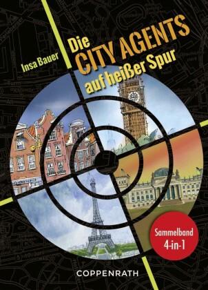 Die City Agents auf heißer Spur - Sammelband 4 in 1