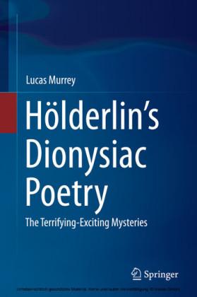 Hölderlin's Dionysiac Poetry