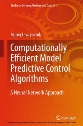 Computationally Efficient Model Predictive Control Algorithms