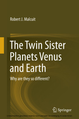 The Twin Sister Planets Venus and Earth