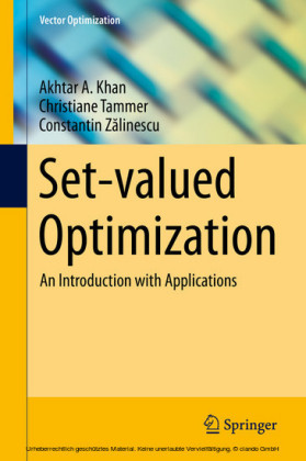 Set-valued Optimization