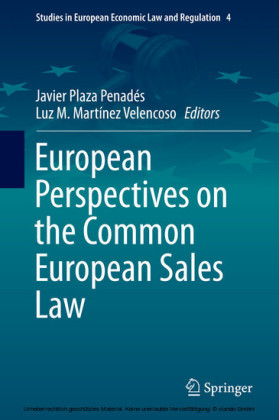 European Perspectives on the Common European Sales Law