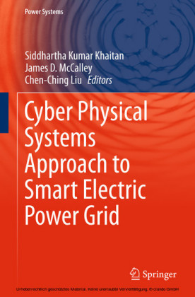 Cyber Physical Systems Approach to Smart Electric Power Grid