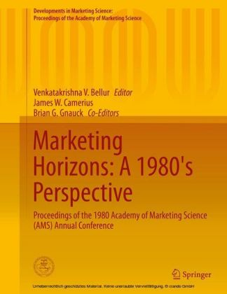 Marketing Horizons: A 1980's Perspective