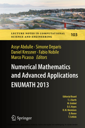 Numerical Mathematics and Advanced Applications - ENUMATH 2013