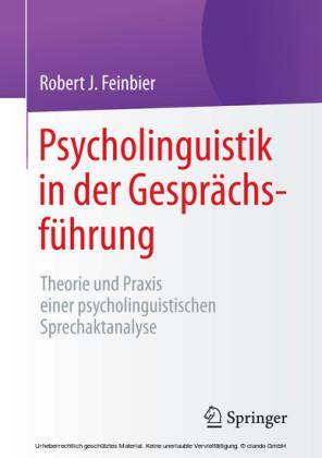 Psycholinguistik in der Gesprächsführung