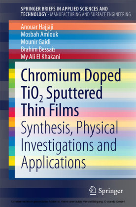 Chromium Doped TiO2 Sputtered Thin Films