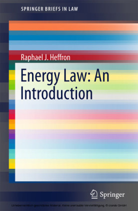 Energy Law: An Introduction