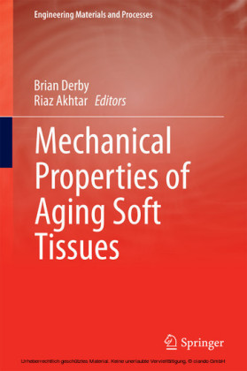 Mechanical Properties of Aging Soft Tissues