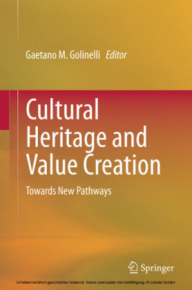 Cultural Heritage and Value Creation