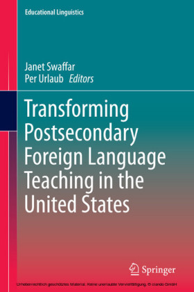 Transforming Postsecondary Foreign Language Teaching in the United States