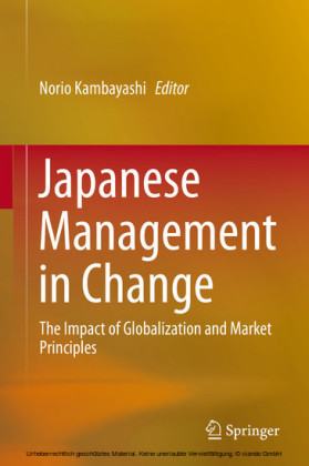 Japanese Management in Change