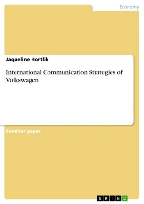 International Communication Strategies of Volkswagen
