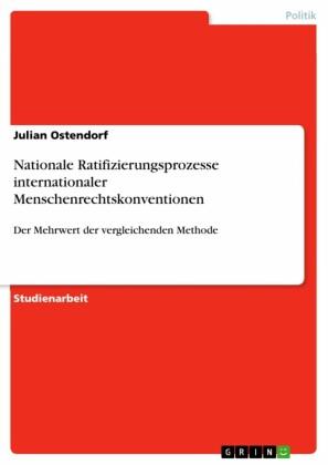 Nationale Ratifizierungsprozesse internationaler Menschenrechtskonventionen