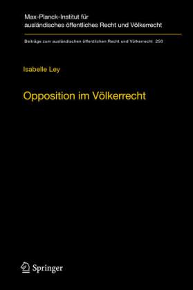 Opposition im Völkerrecht