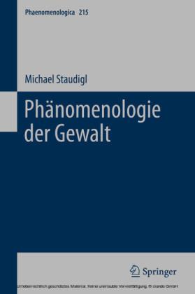 Phänomenologie der Gewalt