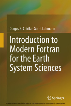 Introduction to Modern Fortran for the Earth System Sciences
