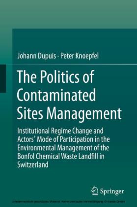 The Politics of Contaminated Sites Management