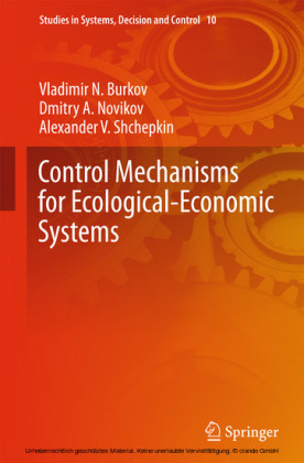 Control Mechanisms for Ecological-Economic Systems