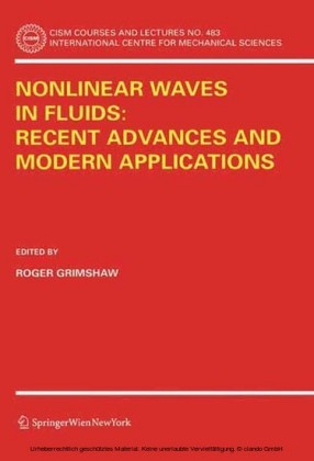 Nonlinear Waves in Fluids: Recent Advances and Modern Applications