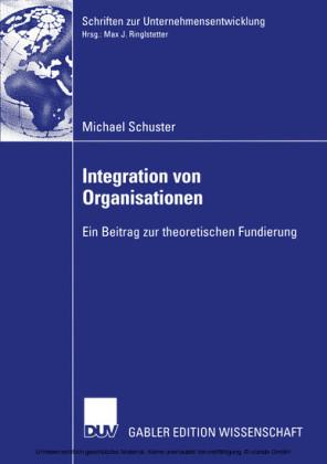 Integration von Organisationen