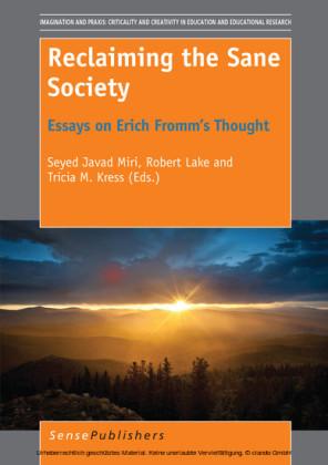 Reclaiming the Sane Society