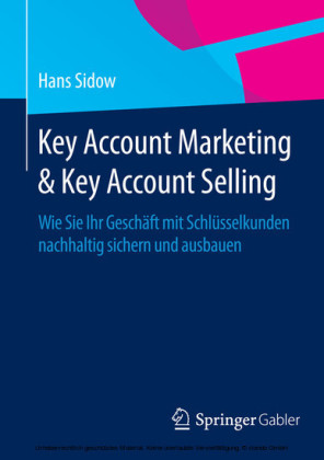 Key Account Marketing & Key Account Selling