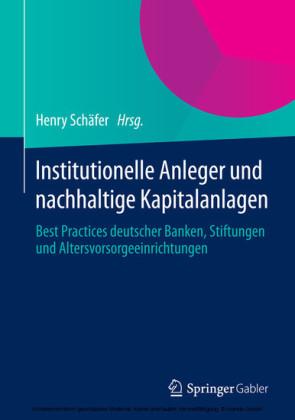 Institutionelle Anleger und nachhaltige Kapitalanlagen