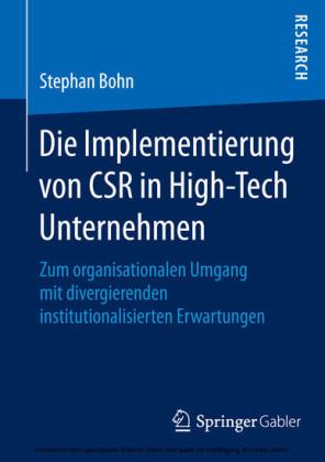 Die Implementierung von CSR in High-Tech Unternehmen