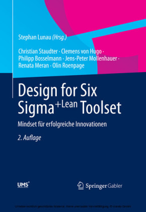 Design for Six Sigma+Lean Toolset