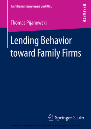 Lending Behavior toward Family Firms