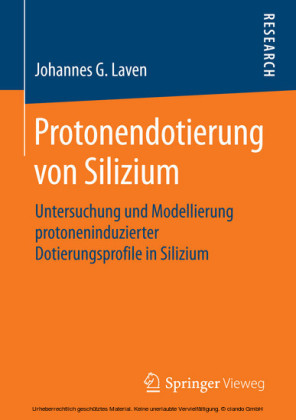 Protonendotierung von Silizium