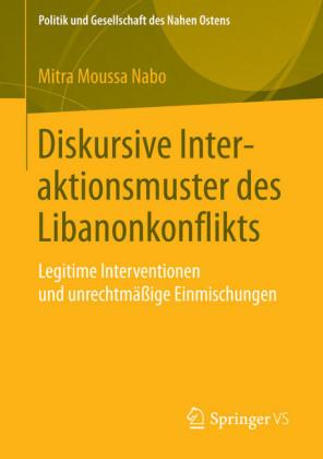 Diskursive Interaktionsmuster des Libanonkonflikts