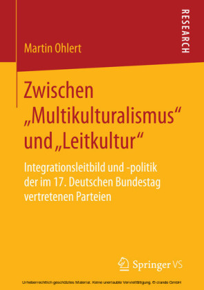 Zwischen 'Multikulturalismus' und 'Leitkultur'
