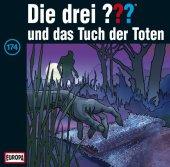 Die Drei Fragezeichen und das Tuch der Toten, 1 Audio-CD Cover