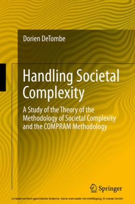 Handling Societal Complexity