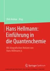 Hans Hellmann: Einführung in die Quantenchemie