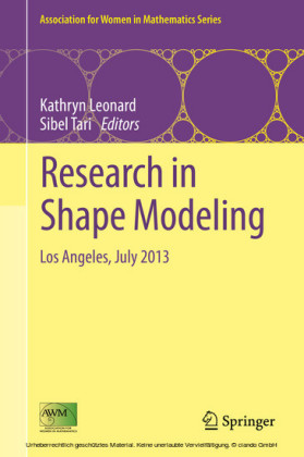 Research in Shape Modeling