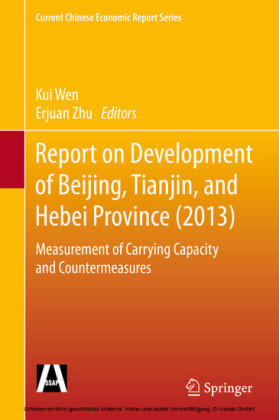 Report on Development of Beijing, Tianjin, and Hebei Province (2013)