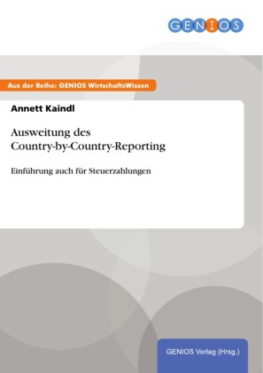 Ausweitung des Country-by-Country-Reporting