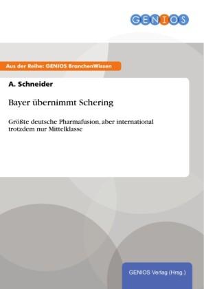 Bayer übernimmt Schering