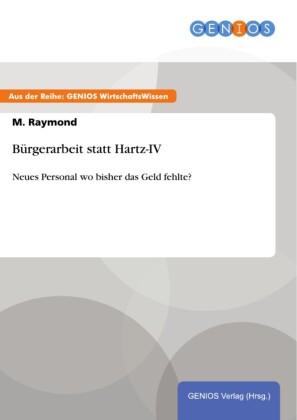 Bürgerarbeit statt Hartz-IV