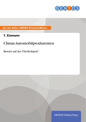 Chinas Automobilproduzenten
