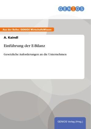 Einführung der E-Bilanz