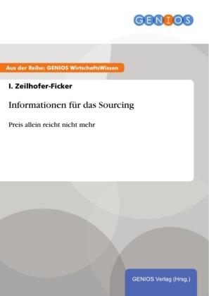 Informationen für das Sourcing