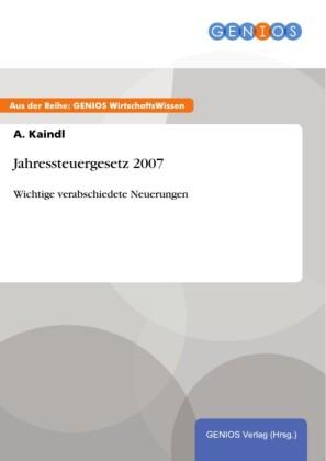 Jahressteuergesetz 2007