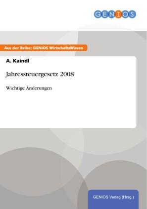 Jahressteuergesetz 2008