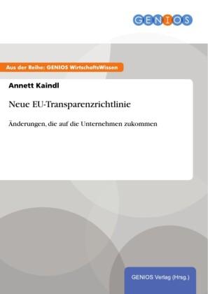 Neue EU-Transparenzrichtlinie
