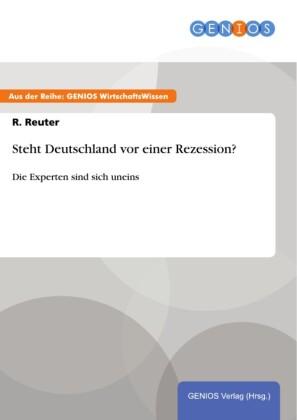 Steht Deutschland vor einer Rezession?