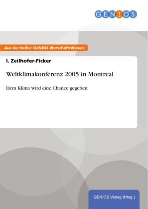 Weltklimakonferenz 2005 in Montreal